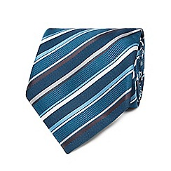 The Collection - Turquoise stripe tie