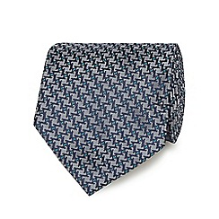 The Collection - Silver patterned tie