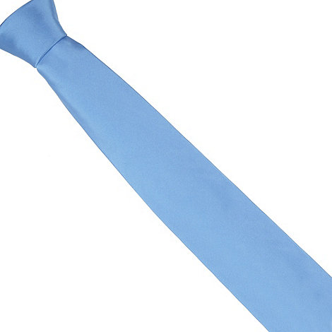 Thomas Nash - Light blue plain tie
