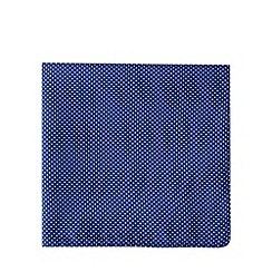 Black Tie - Navy pin dot pocket square