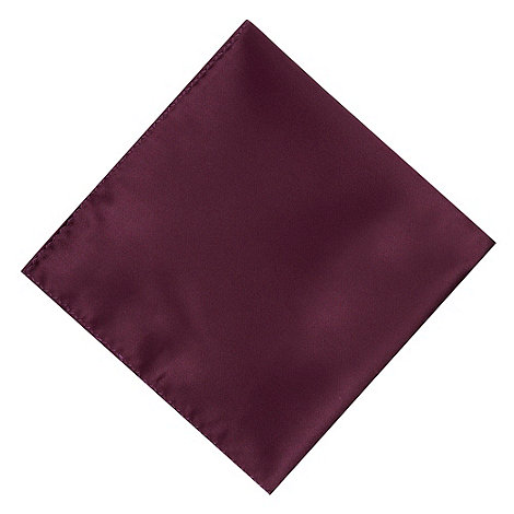 Black Tie - Purple satin pocket square