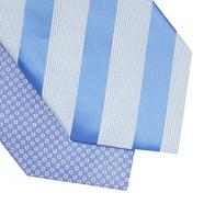 Pack of two blue patterned ties