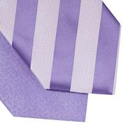 Pack of two lilac patterned ties