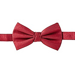 Black Tie - Dark red sparkle bow tie
