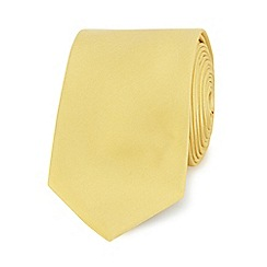 Red Herring - Yellow slim tie