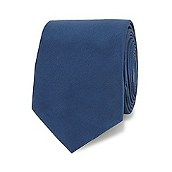 Red Herring - Dark blue slim tie