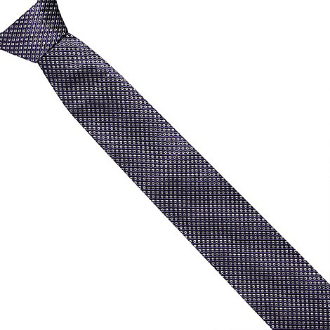 J by Jasper Conran - Designer purple mini squares silk tie