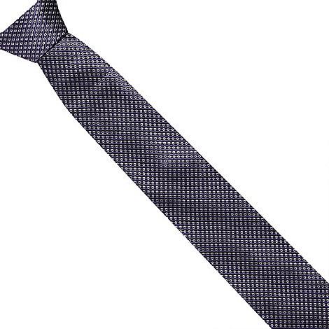 J by Jasper Conran - Designer purple mini squares silk tie