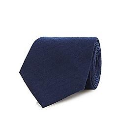 Hammond & Co. by Patrick Grant - Navy plain tie