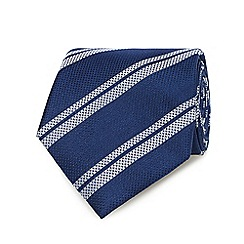 Hammond & Co. by Patrick Grant - Blue striped tie