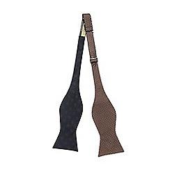 Hammond & Co. by Patrick Grant - Multi-coloured reversible silk tie