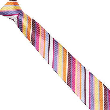 Thomas Nash - Pink bold striped tie