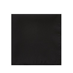 Black Tie - Black satin pocket square