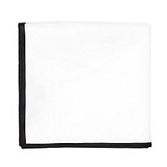 Black Tie - Black jacquard pocket square