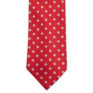 Red diamond tie
