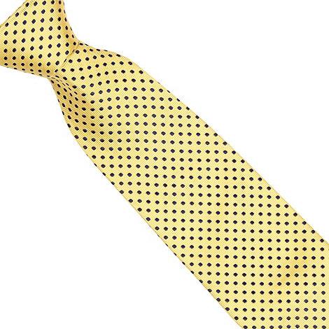 Osborne - Yellow polka dot tie