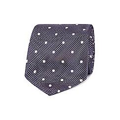 J by Jasper Conran - Designer pink dotted jacquard silk tie