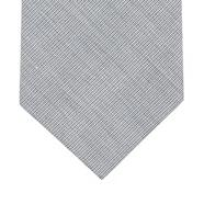 Blue cotton slim tie
