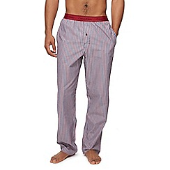 Calvin Klein - Red and blue striped pyjama bottoms