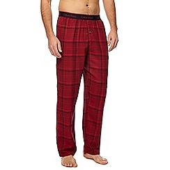 Calvin Klein - Red checked pyjama bottoms