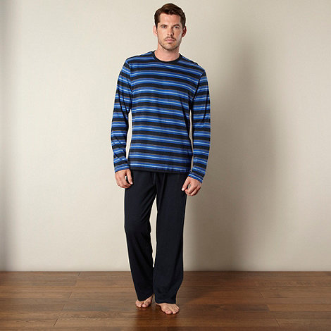 Maine New England - Navy jersey loungewear set