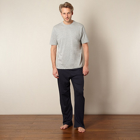 Maine New England - Navy top and pants pyjama set