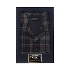 Hammond & Co. by Patrick Grant - Big and tall grey checked pyjama set
