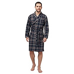 Hammond & Co. by Patrick Grant - Grey checked dressing gown