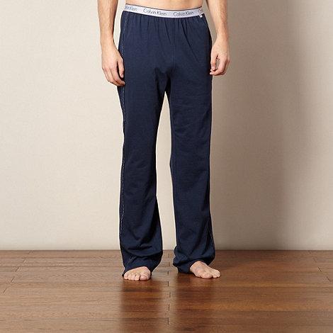 Calvin Klein - Navy logo pyjama bottoms
