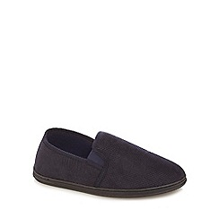 Maine New England - Navy slippers