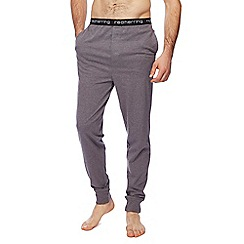 Red Herring - Black jersey cuffed pyjama bottoms