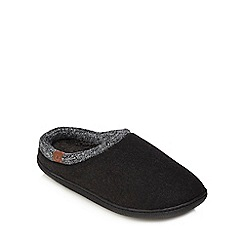 RJR.John Rocha - Grey mule slippers