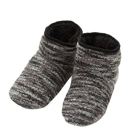 RJR.John Rocha - Designer grey knitted boots