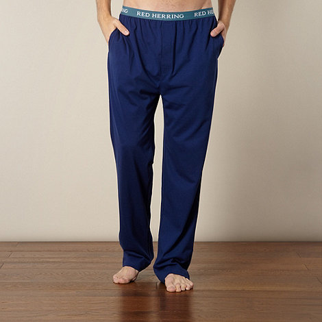 Red Herring - Blue jersey lounge pants