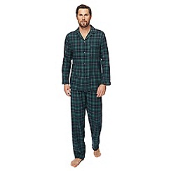 Maine New England - Green checked pyjama set