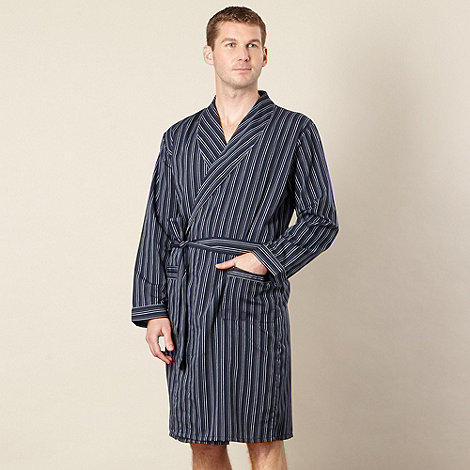 Maine New England - Navy easy care striped gown