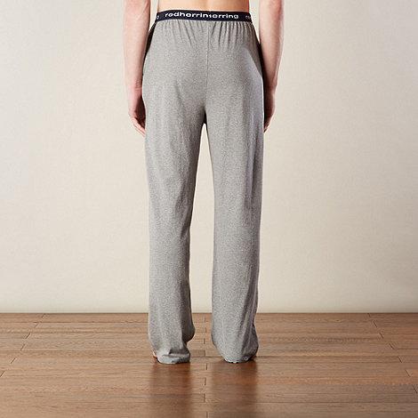 Red Herring - Grey marled jersey loungewear trousers
