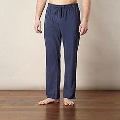 RJR.John Rocha - Designer navy jersey jogging bottoms