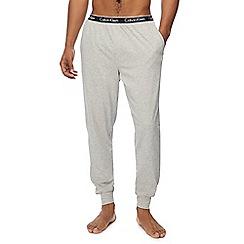 Calvin Klein - Grey cuffed jogging bottoms