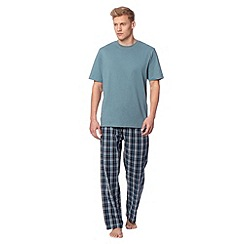 Maine New England - Turquoise t-shirt and bottoms loungewear set