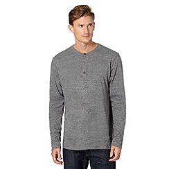 RJR.John Rocha - Designer dark grey grandad top