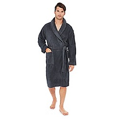 Calvin Klein - Grey woven checked pyjama bottoms