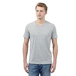 Red Herring - Grey V neck t-shirt