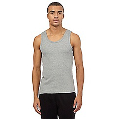 Red Herring - Grey ribbed jersey vest