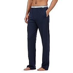 Calvin Klein - Navy jersey pyjama bottoms