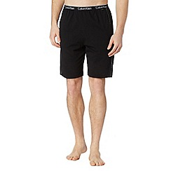 Calvin Klein - Black plain jersey shorts