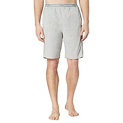 Calvin Klein - Grey plain jersey shorts