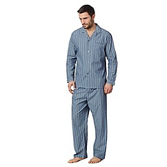 Maine New England - Blue fine striped pyjama set