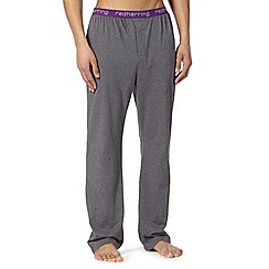 Red Herring - Dark grey jersey pyjama bottoms