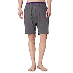 Red Herring - Dark grey jersey shorts
